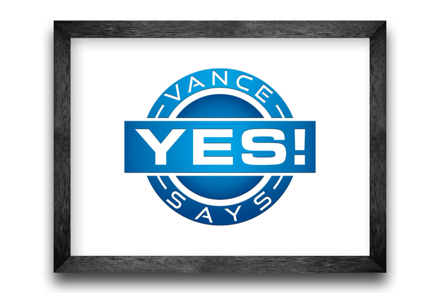 Vance Says Yes Badge