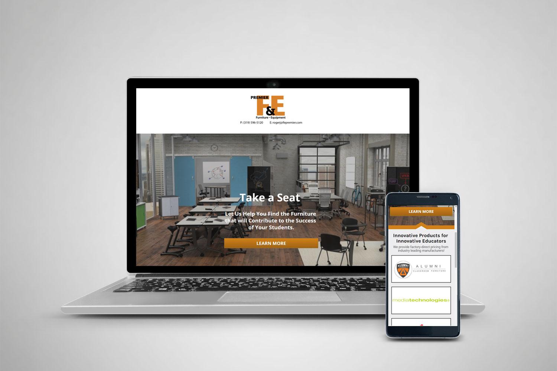 Premier F&E Landing Page