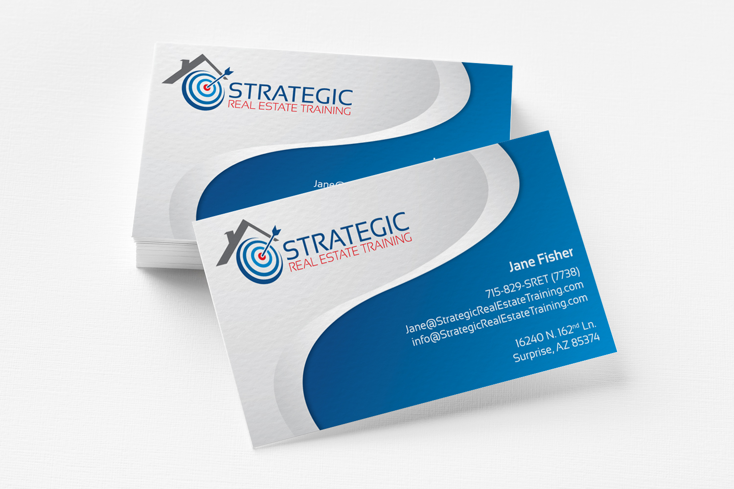 Strategic Real Estate Business Card