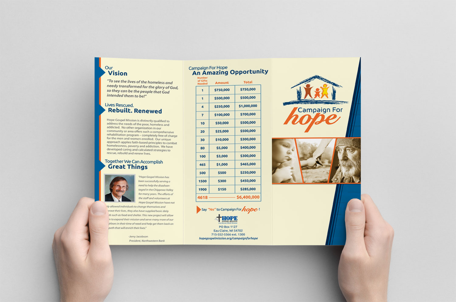 Campaign for Hope Brochure